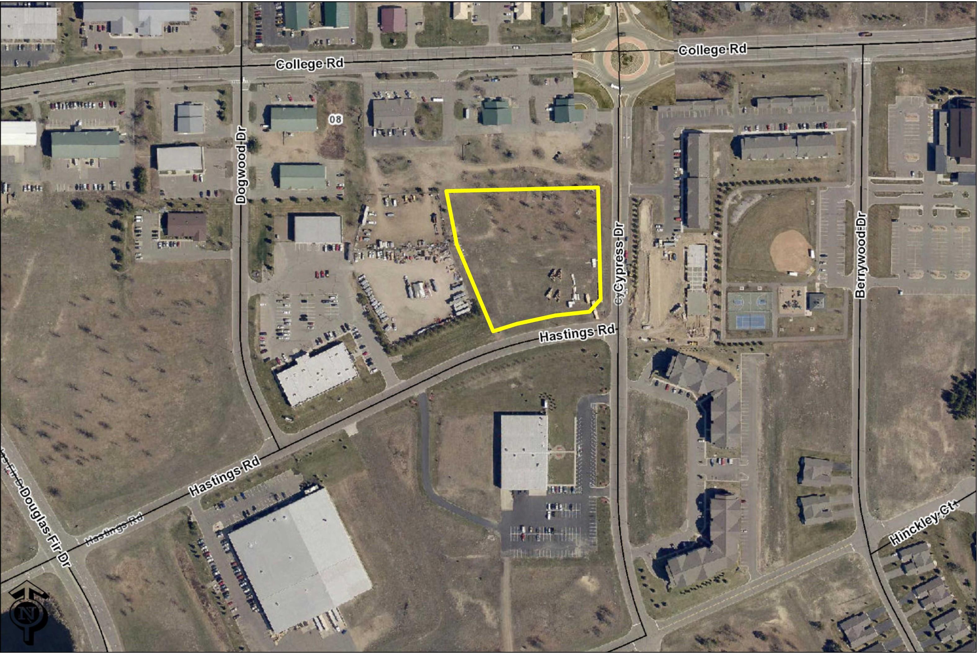 Baxter Industrial Park Corner Lot