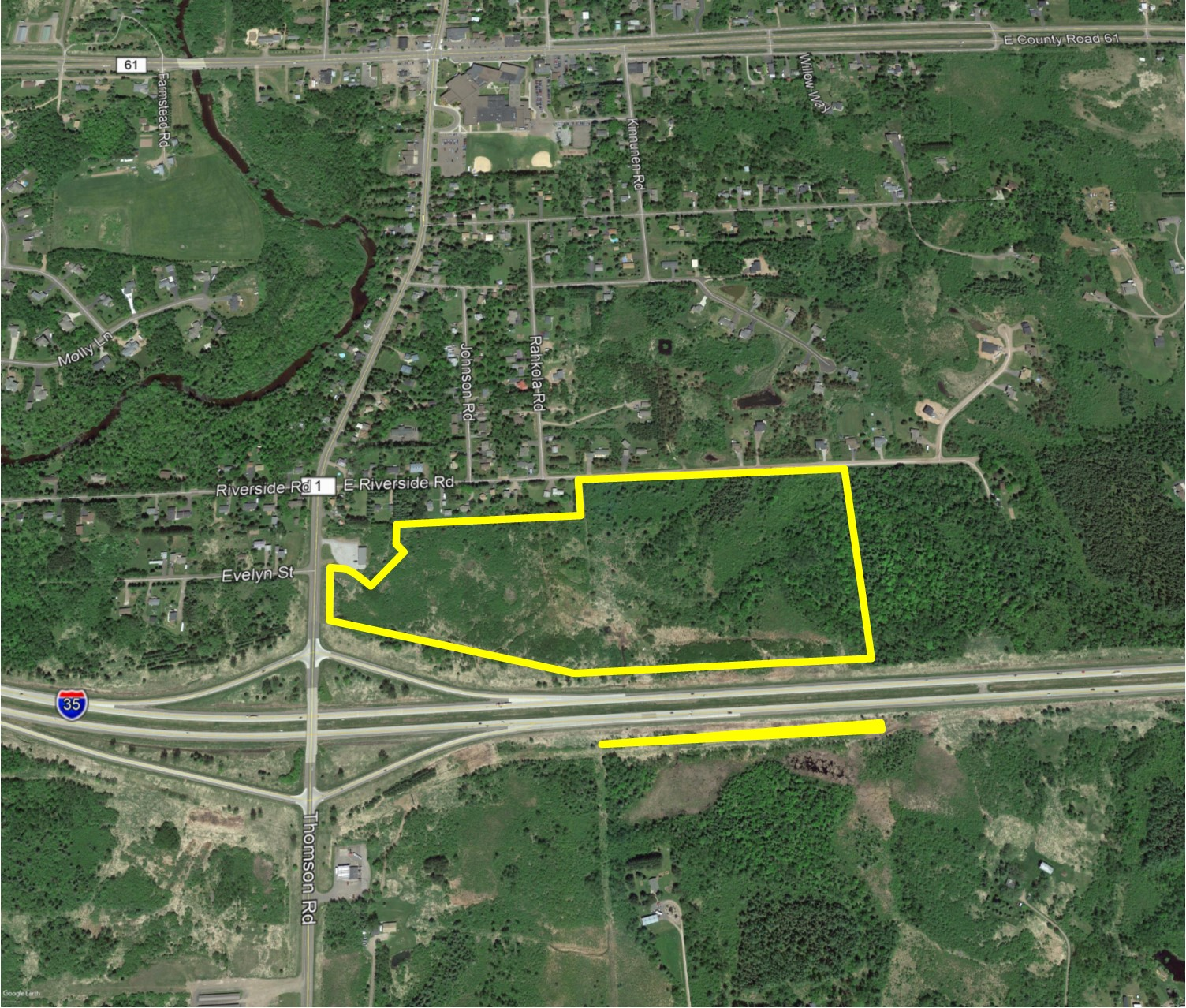PRICE REDUCED! I-35 Acreage For Sale