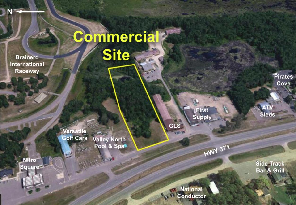 PRICE REDUCED! Hwy 371 Frontage Near BIR