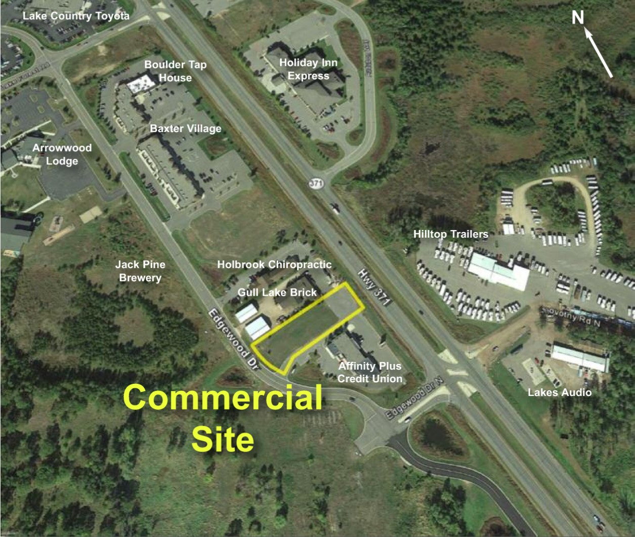 PRICE REDUCED! Retail Center Pad Site