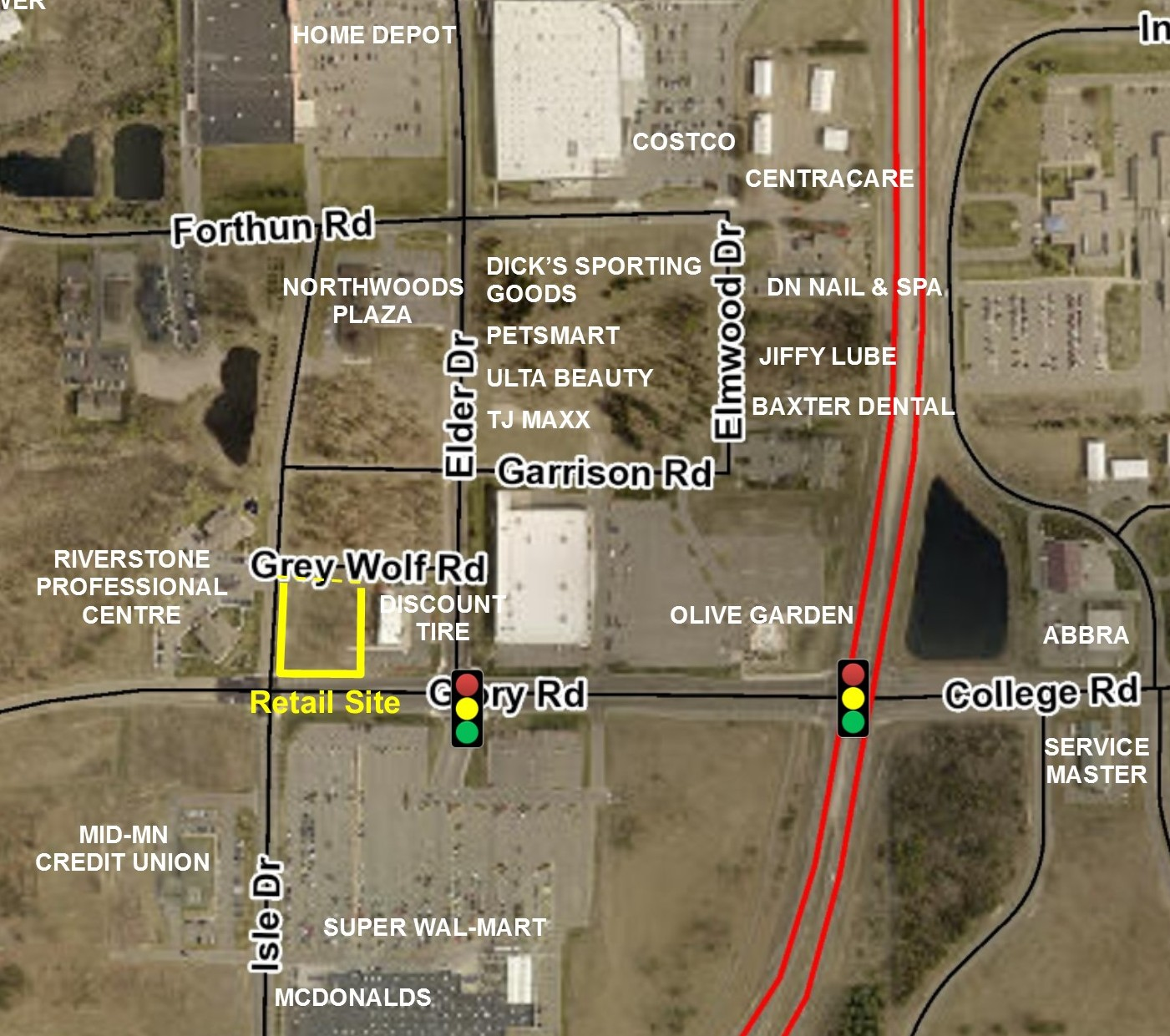 Retail Site Near Wal-Mart / Costco / Home Depot & More!