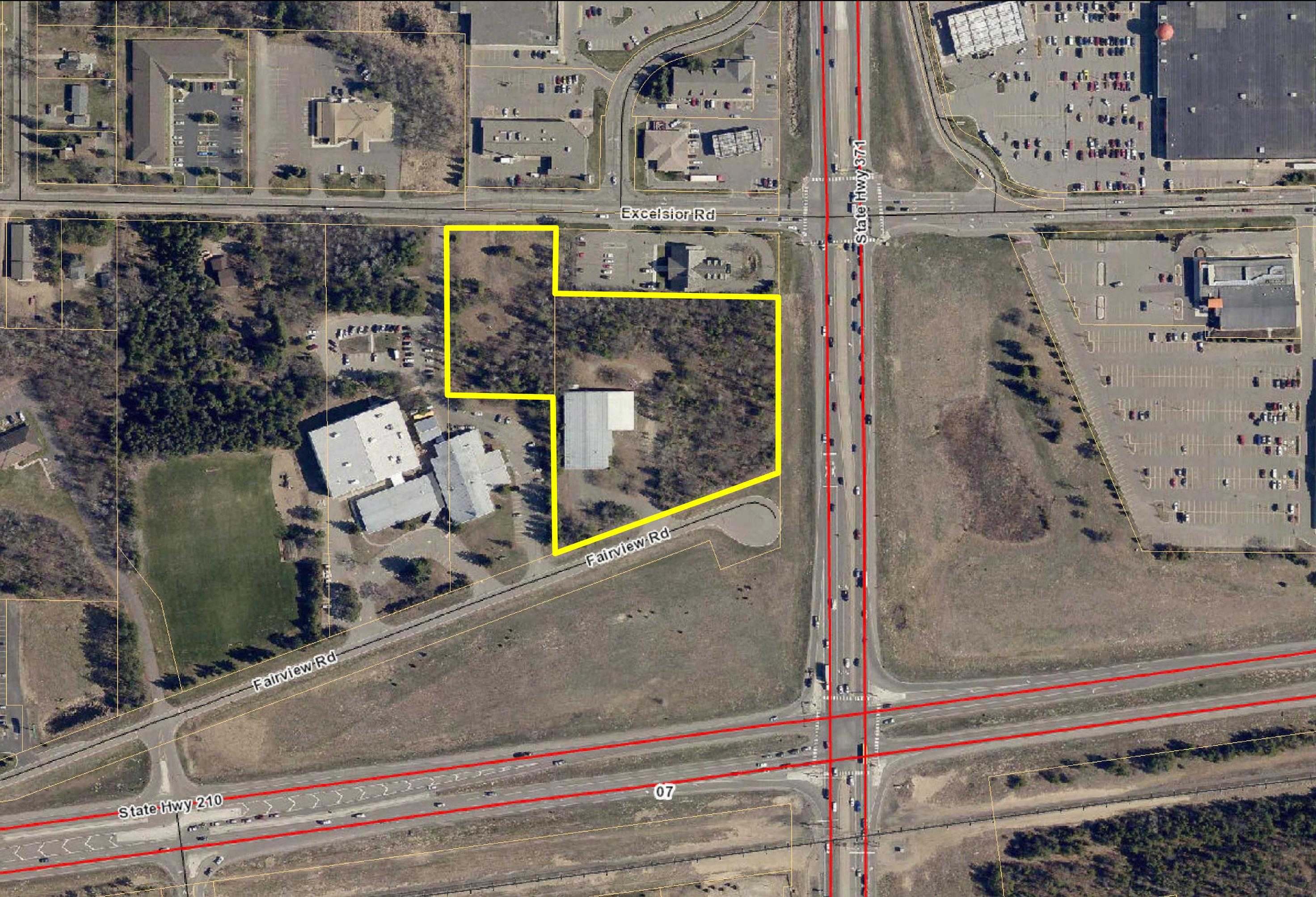 PENDING! Hwy 371/210 Intersection