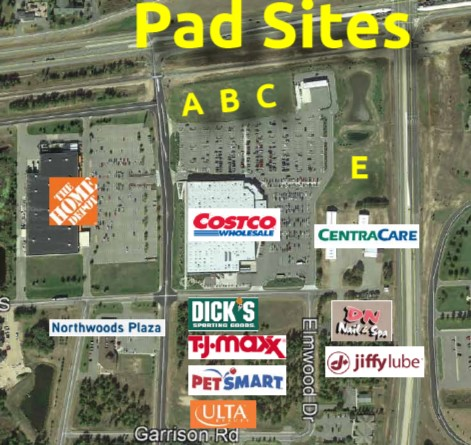 Costco Pad Site (A) - Close Converse