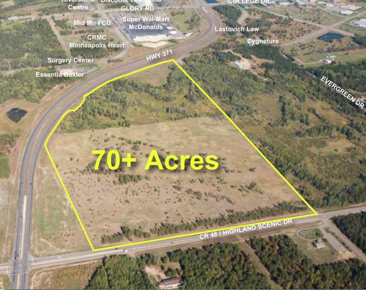 70+ Acres on Hwy 371