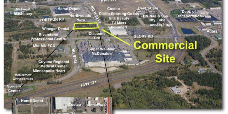 Commercial Site Near Costco Close Converse