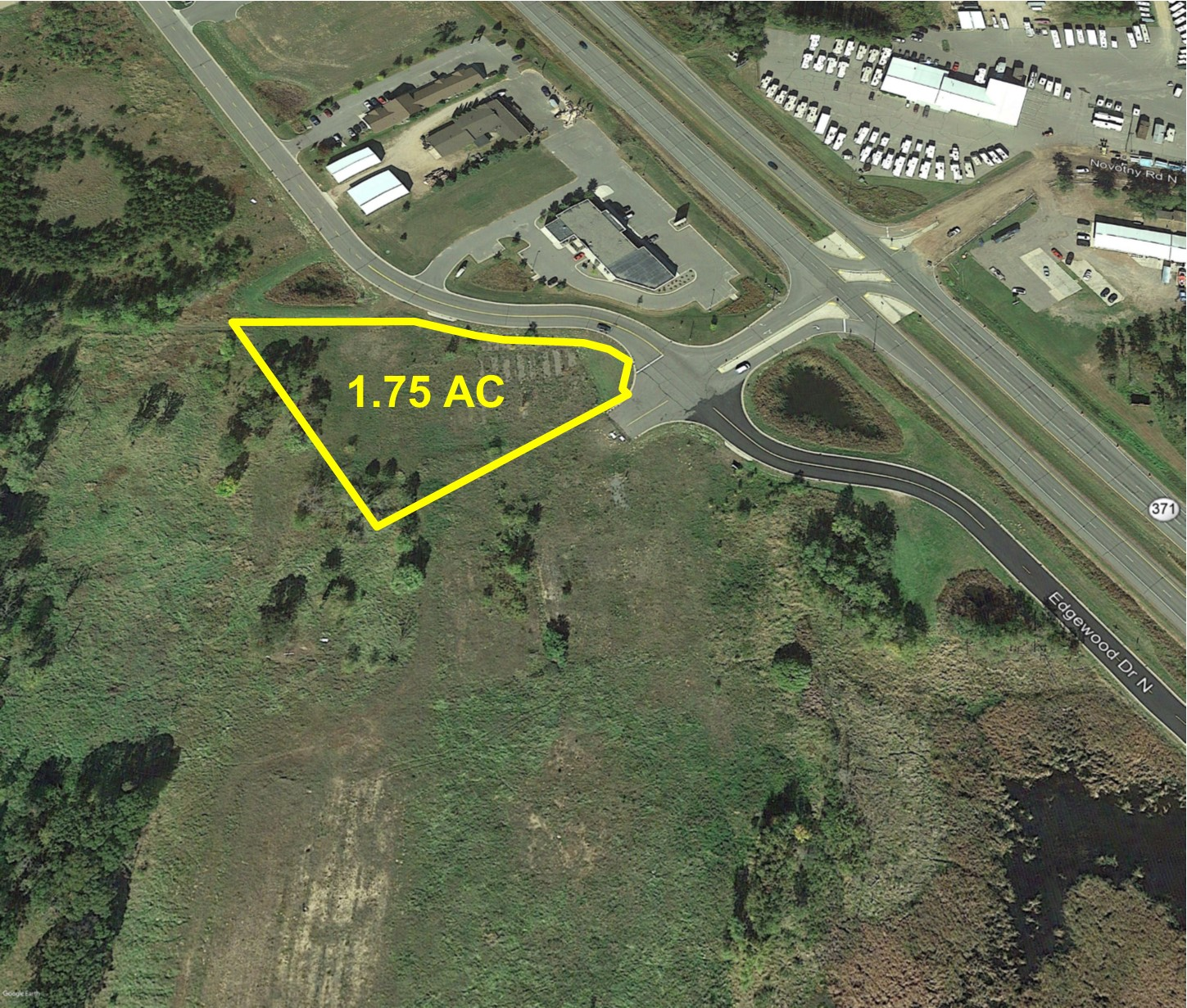 PRICE REDUCED! Hwy 371 Commercial Site