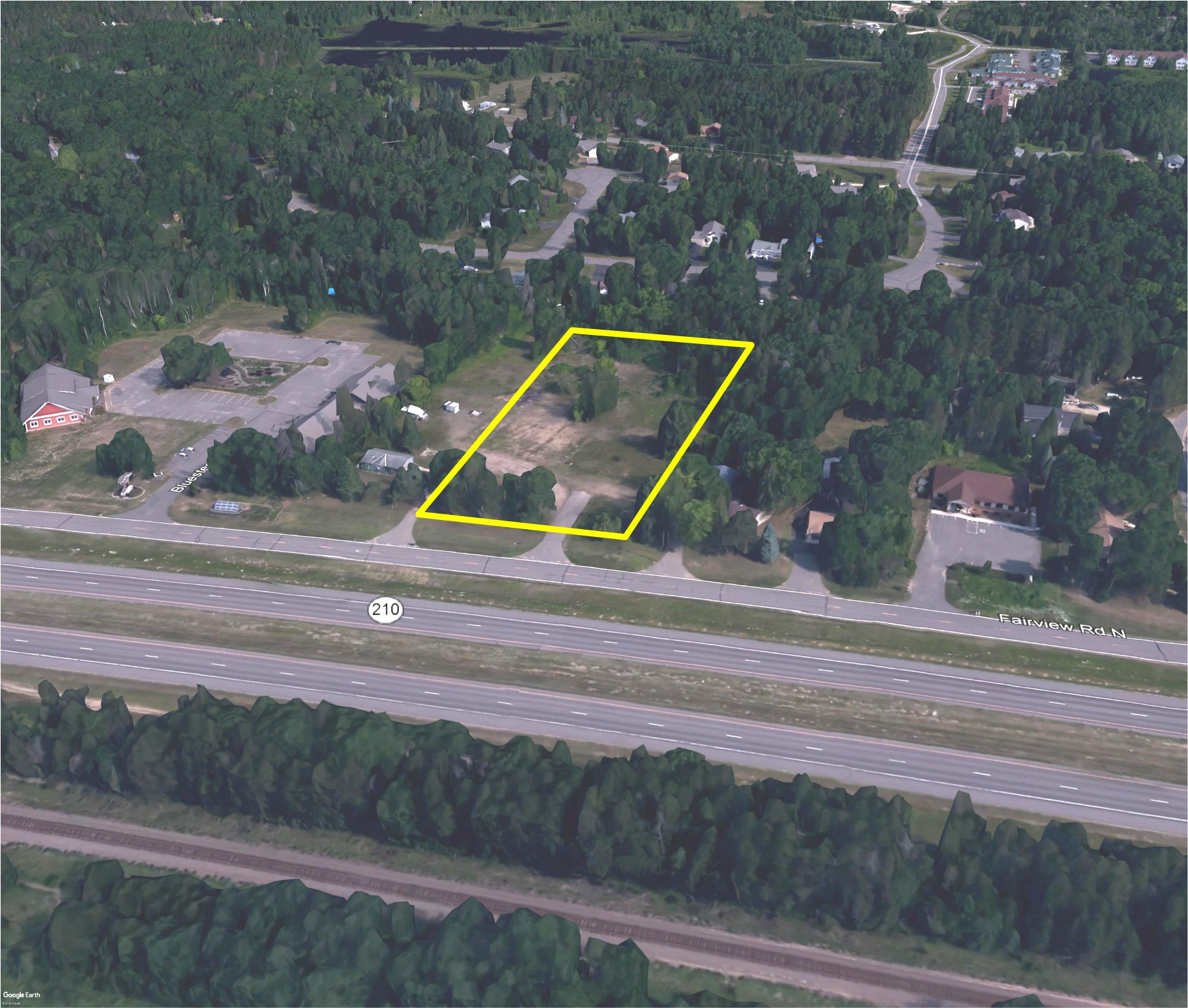 Hwy 210 Commercial Lot