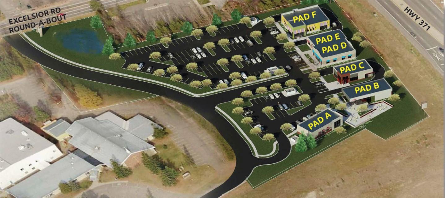 Hwy 371/Hwy 210 Pad Sites