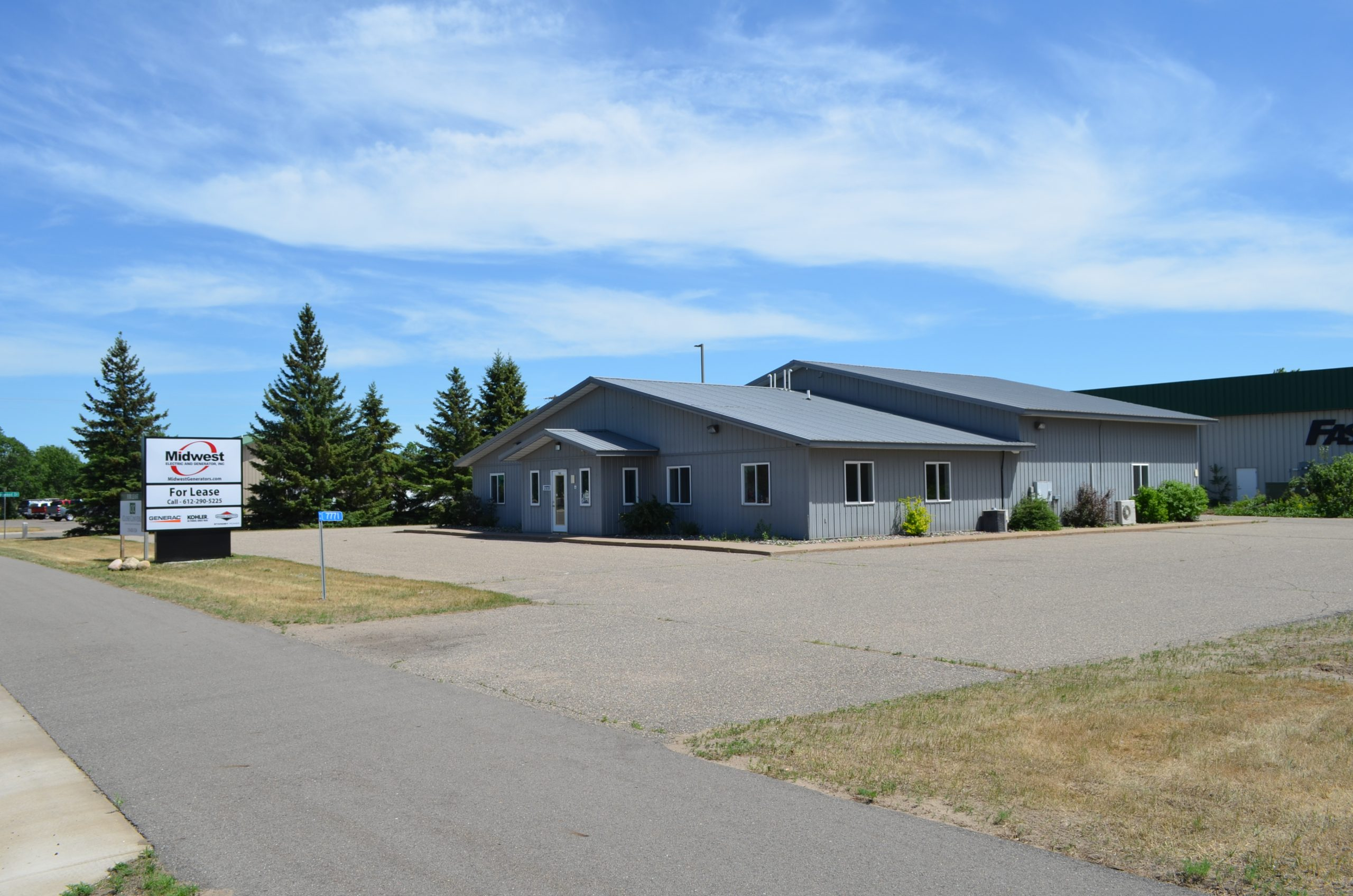 LEASED! Baxter Office/Industrial For Lease (NW Quadrant)