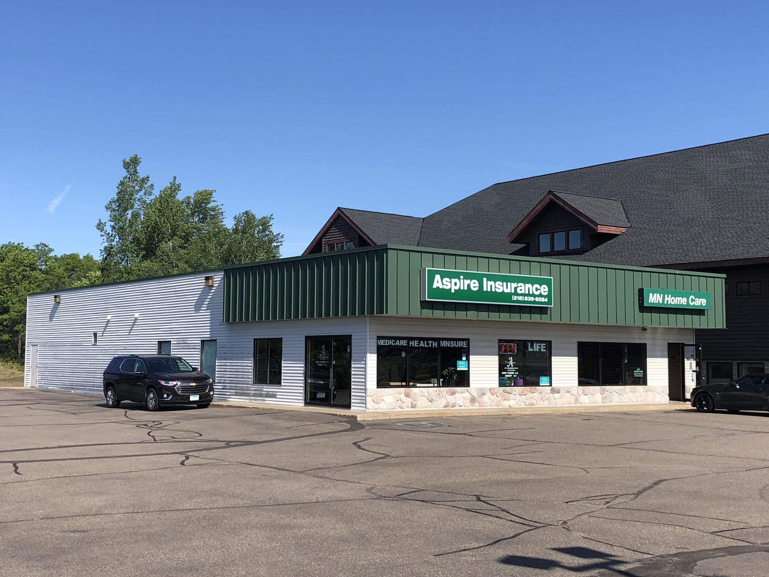 Hwy 371 Retail/Office Building w/Garages